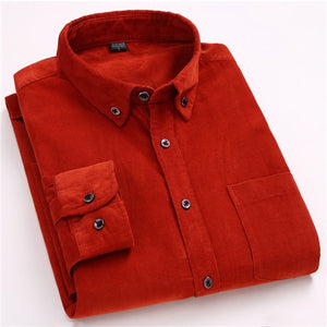 New Arrivals Men's Autumn Long Sleeved Casual Shirts