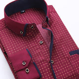 2019 New Arrival High Quality Button Down Collar Long Sleeve Shirts