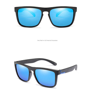 Men Polarized TR90 Vintage Sunglasses