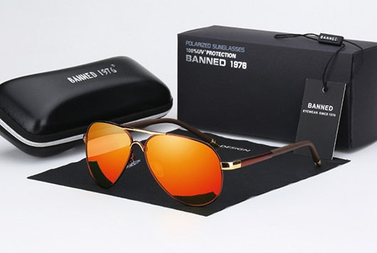 HD Polarized UV400 Men's Sunglasses
