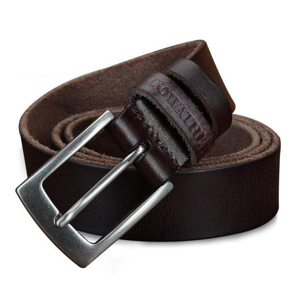 Top Genuine Cow Leather Casual Belt for Men