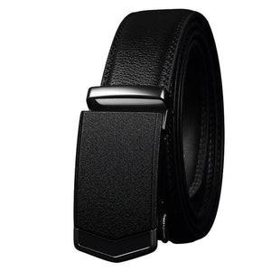High Quality Genuine Black & Brown Cow Leather Belt for Men