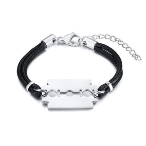 Stylish Wiper Blades Shaped Bracelet for Men