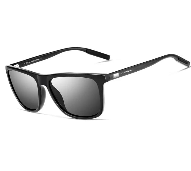 Fashion Brand Retro Aluminum Polarized Men's Sunglasses