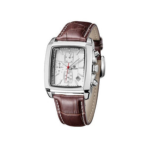 Summer 2019 Elegant Leather Band Casual Watch - Ref LBW5487