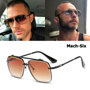 Summer 2019 Fashion Classic Mach Six Style Gradient Men's Sunglasses