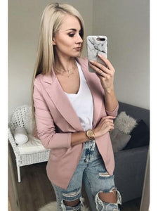 WCCA - Fashion women casual blazer