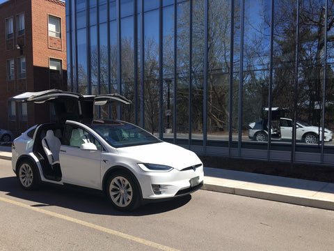 Tesla VIP Recurring Trip - White Model X