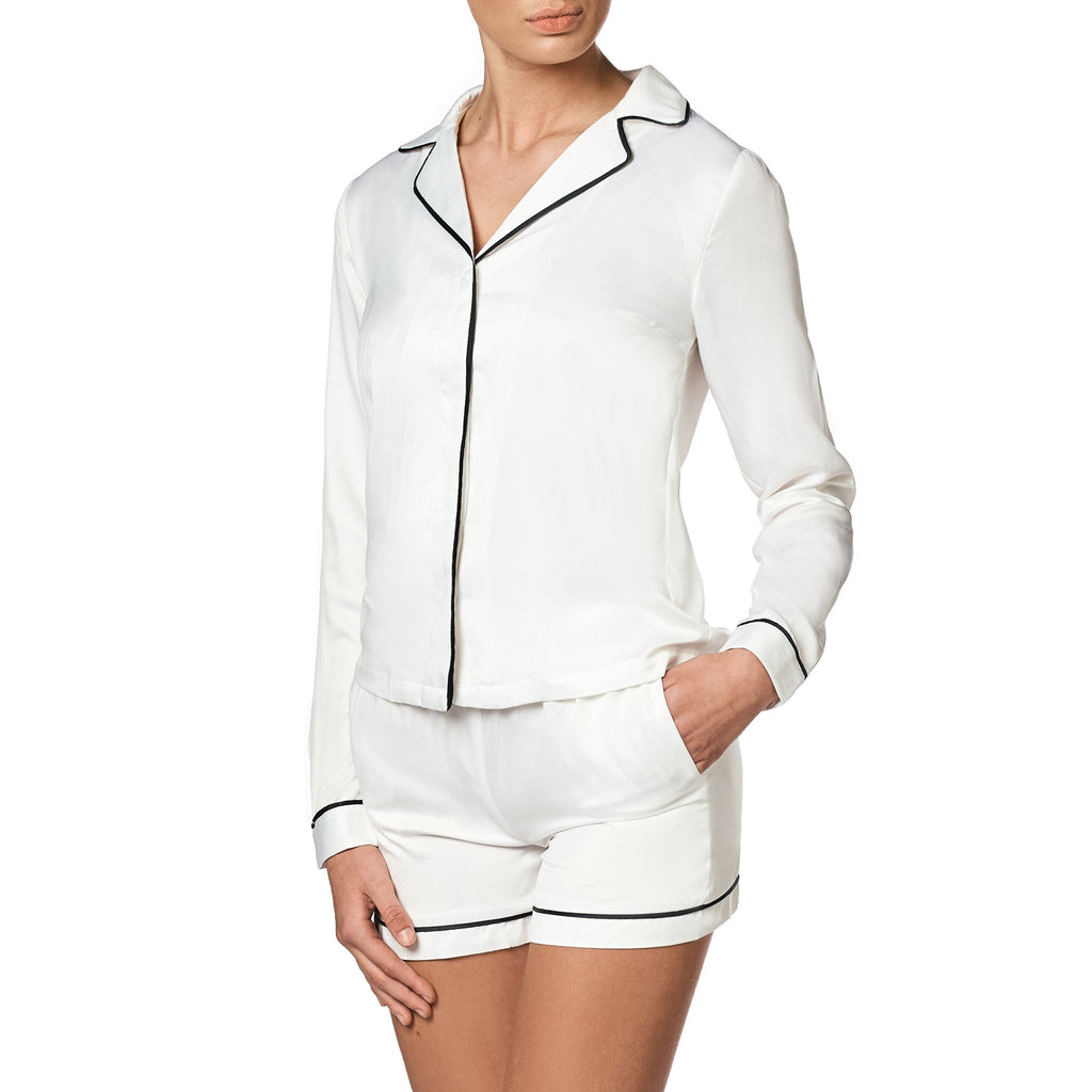 mathilde-gohler - ALEXANDRA Shirt - White - OW intimates - Nightwear