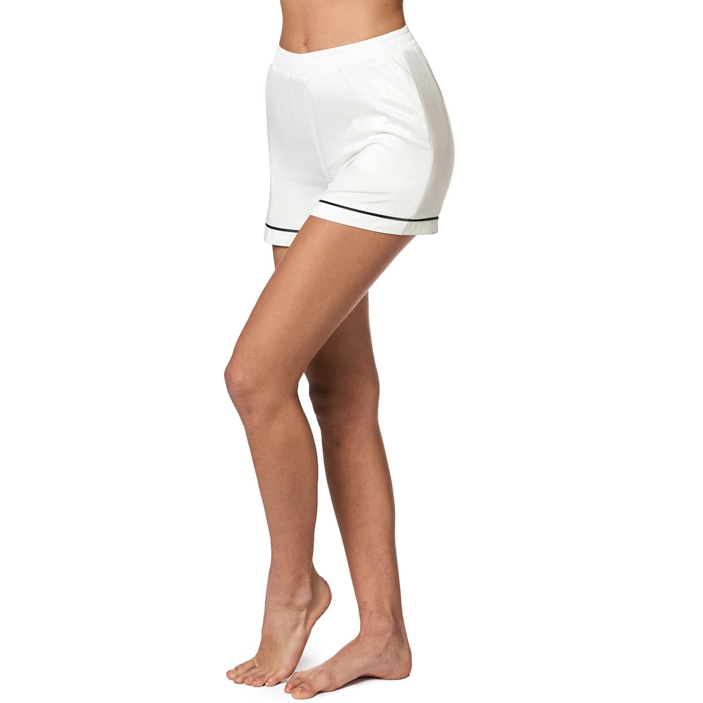 mathilde-gohler - ALEXANDRA Shorts - White - OW intimates - Nightwear