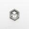1.00ct 7.29x6.17x2.79mm Hexagon Rosecut 18523-04