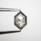 0.86ct 8.31x5.47x2.31mm Hexagon Rosecut 18769-02