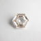 1.00ct 7.12x5.92x3.00mm Hexagon Rosecut 18804-03
