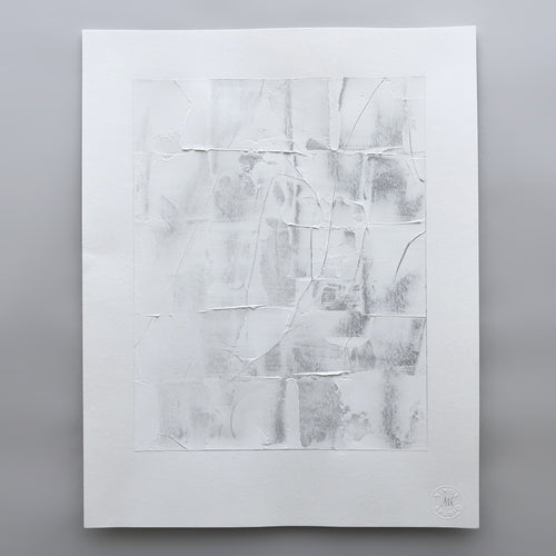 Abstract Textural Study on Paper by Ninos Studio
