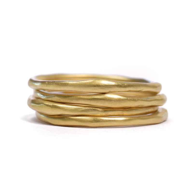 Petite Stacking Ring (Without Diamonds)