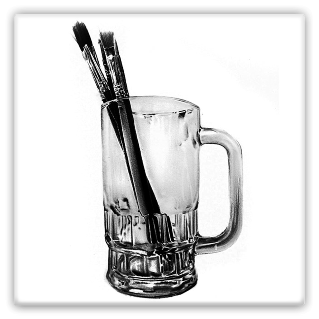 Pint of brushes (Metal Magnets)