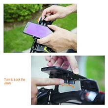 Load image into Gallery viewer, Metal Bike Phone Mount, 100% Aluminum Alloy, for Mountain Road Sports Bike and Motorcycle, Universal Cell Phone Holder, Fits iPhone 11/Xs/Xs Max/XR/X/8/7 (Plus), Samsung Note10/Note9/S10/S9/S8 (Plus)