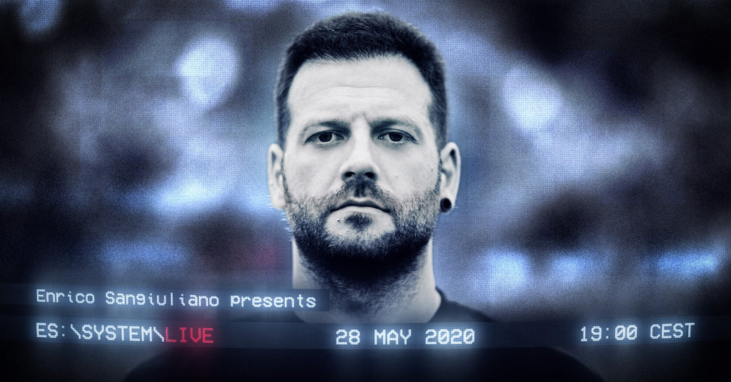 Enrico Sangiuliano's Launching New Digital Concept via Livestream Tomorrow