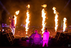 Huge Stage Fire Breaks Out During Headhunterz & Yellowclaw Performance at EDC Mexico