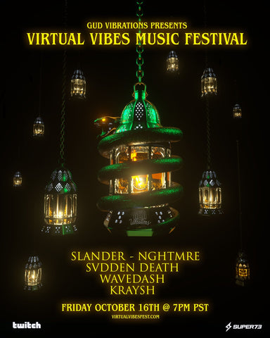 Gud Vibrations & Twitch Partner to Present 'Virtual Vibes Music Festiv –  The Flag Gang
