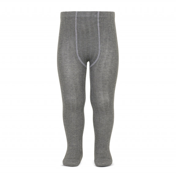 Sokkabuxur - Rib 230 Light Grey