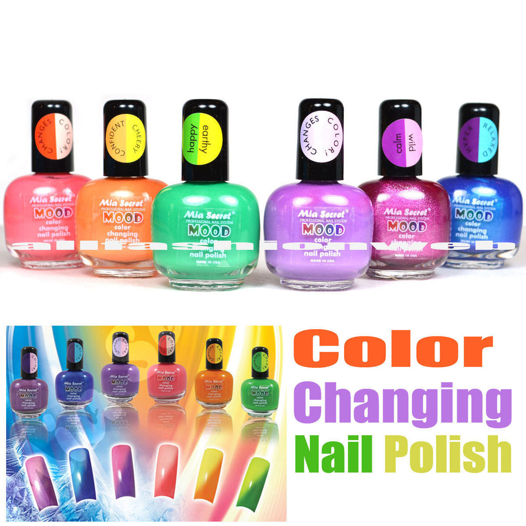 Nail Polish That Changes Color In Water - Best Nail 2018