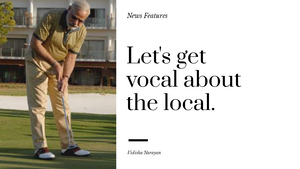 Let's get vocal about local.