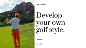 Developing Your Own Golf Style
