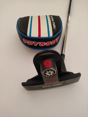 Left Hand Odyssey Triple Track Putter