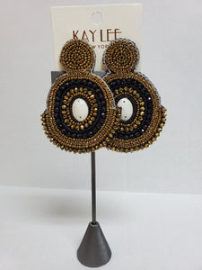 Alana beaded earrings