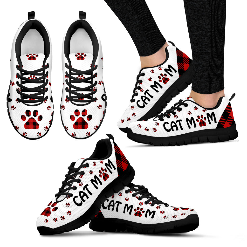Cat Mom Paws Sneaker - Wonder Cute Official