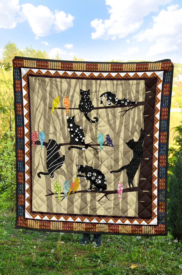 Vintage Cat Quilt For Bedding - Wonder Cute Official