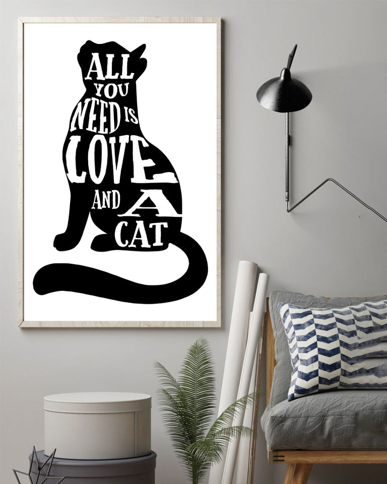 All you need is love and cats Poster