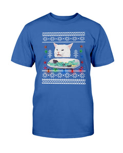 The Meme Cat Funny Christmas T-shirt - Wonder Cute Official