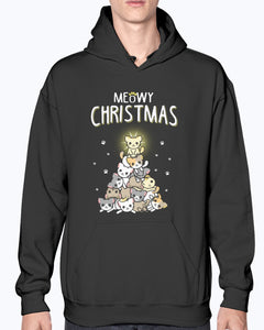 Meowy Christmas t-shirt - Wonder Cute Official