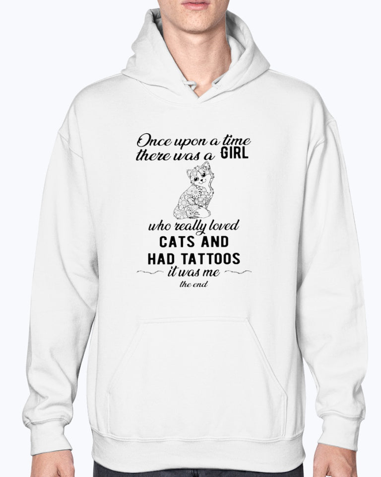 Love Cat And Have Tattoos T-shirt hiep