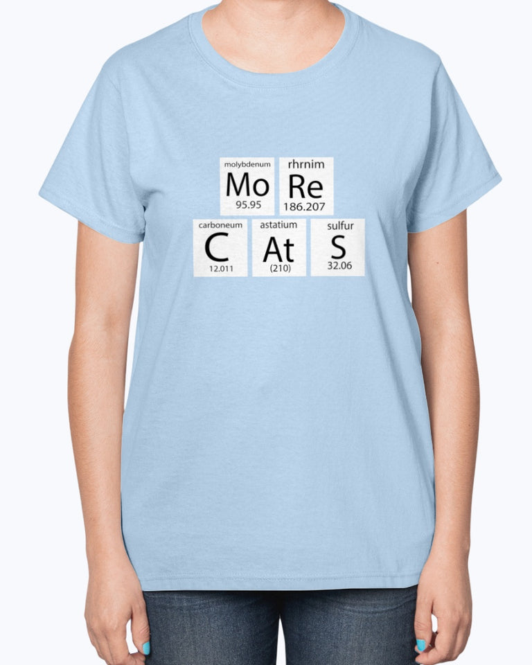 MoRe CAtS Funny Cute Cat T-shirt - Wonder Cute Official