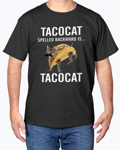 Tacocat Funny Cat  T-shirt - Wonder Cute Official