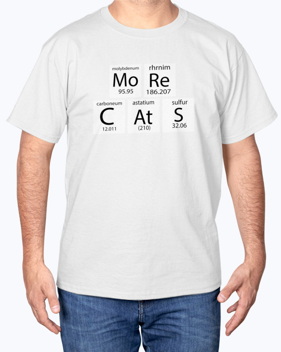 MoRe CAtS Funny Cute Cat T-shirt