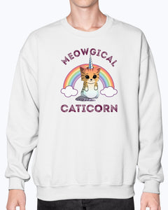 Meowgical Caticorn T-shirt hiep - Wonder Cute Official