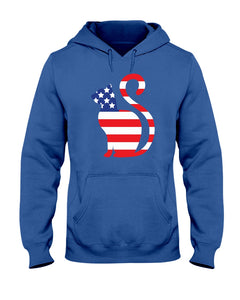 USA Flag Cat Funny Cute Cat T-shirt - Wonder Cute Official
