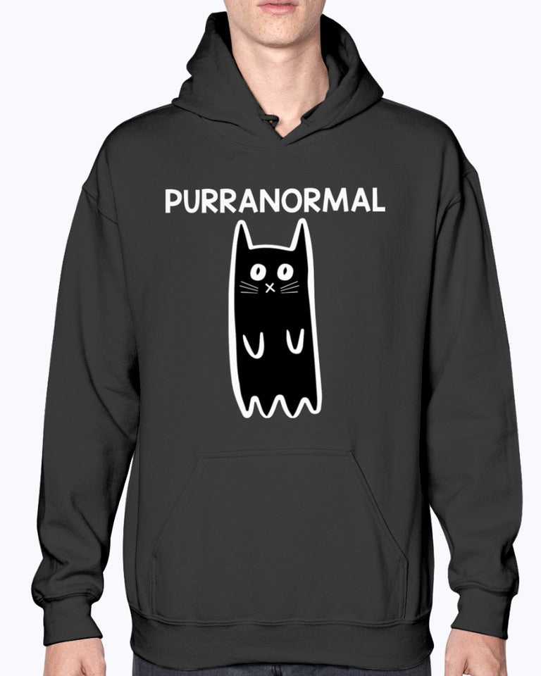 Purranormal funny Cat T-shirt & Hoodie - Wonder Cute Official