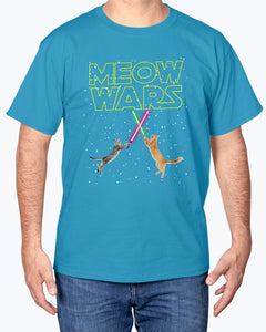 Meow Wars Funny StarWars cat lover t-shirt - Wonder Cute Official