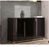 Berlin Gloss Black Wide Sideboard Cabinet Storage Unit - FurniComp