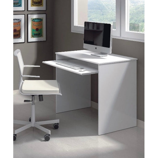 Blanc White Computer Desk PC Study Table - FurniComp