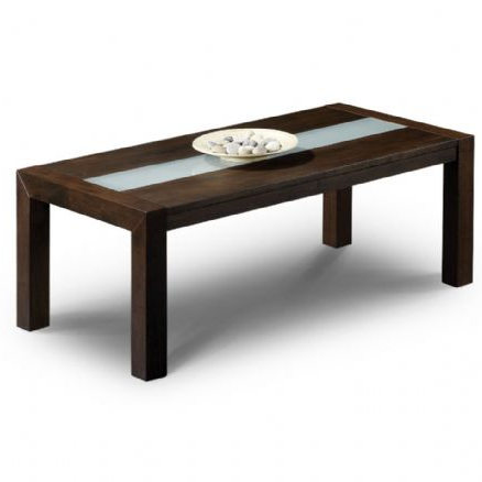 Granada Elegant Hardwood Wenge Finish Coffee Table - FurniComp