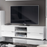 Madeira White Gloss TV and Media Unit - FurniComp