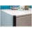 Melbourne 2 Door White Gloss Shoe Cabinet - FurniComp