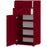 Salvador 1 Door 2 Drawer Ruby Red Shoe Cabinet - FurniComp
