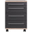 Teramo 4 Drawer Anthracite Drawer Pedestal - FurniComp